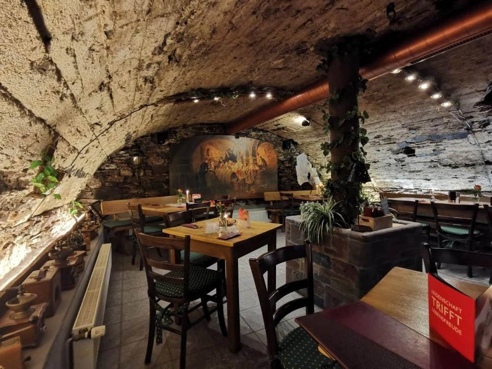 Das Restaurant Martinuskeller in Ediger-Eller